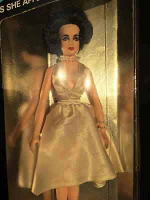 """Vintage Elizabeth Taylor 1960 Tristar Action Figure from """"Cat on a Hot Tin Roof"""""""
