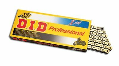 D.I.D. Chain 520 Pro-Street VX2 Series X-Ring Chain - 114 Links - Natural Steel