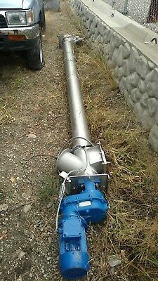 industrial stainless steel auger