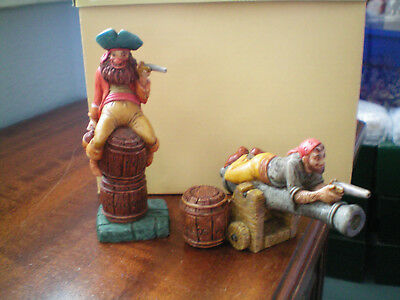 Harmony Kingdom Disney Yo, Ho, Me Mateys Pirates RARE PROTOTYPE