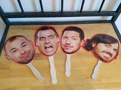 Sdcc 2017 The Impractical Jokers Hand Held Face Cutouts Limited Edition