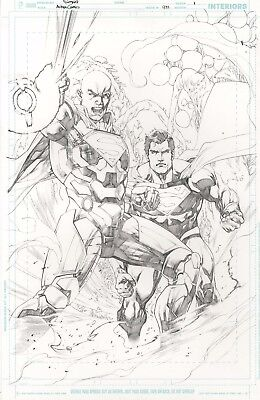 Action Comics issue 972 page 1 by Stephen Segovia Splash