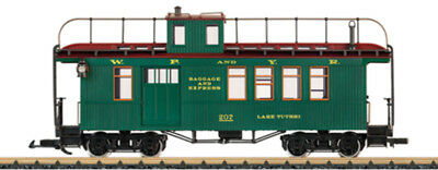 LGB - 40756 - Drovers Caboose White Pass - G Scale 1:22.5