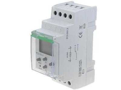 PCZ-521 Programmable time switch Range24h / 7days SPDT 24÷264VAC F AND F