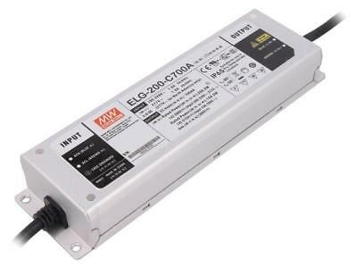 ELG-200-C700A Pwr sup.unit switched-mode LED 200.2W 142÷286VDC MEANWELL