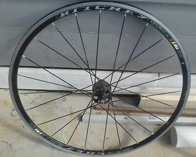 vintage touring frame, shimano R550 wheel and ritchey rear wheel 700c all as is