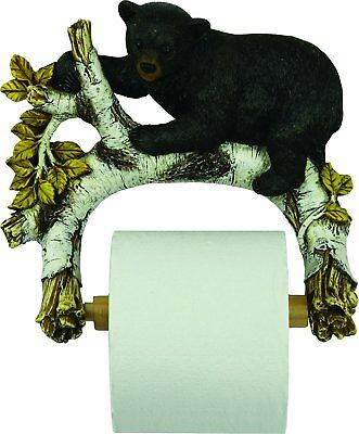 Rivers Edge Cute Bears Wall Mount Toilet Paper Holder 1160