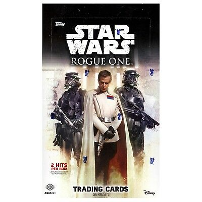 TOPPS STAR WARS Rogue One - Hobby Collection Series 1 SEALED BOX Trading Cards