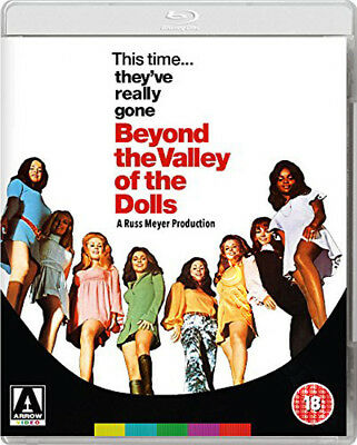 Beyond the Valley of the Dolls NEW Arthouse Blu-Ray Disc Russ Meyer Dolly Read