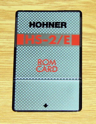 Hohner double ROM card for Casio VZ1 VZ10m and Hohner HS2 HS2E