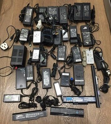 81X Power Adapter/ Charger + 46X Cables/adapters  Untested Item Job lot