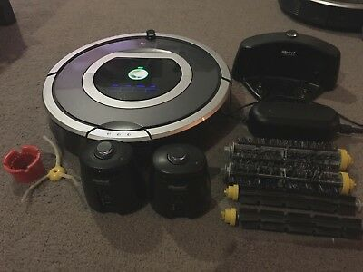 iRobot Roomba 780 Robotic Vacuum Cleaner Cleaning Robot Charger Spares