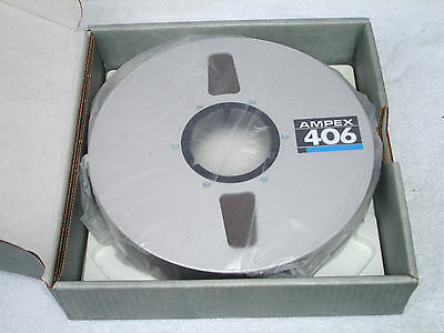 Brand New & Sealed Ampex 406 2inch Grand Master Reel To Reel Audio Tape