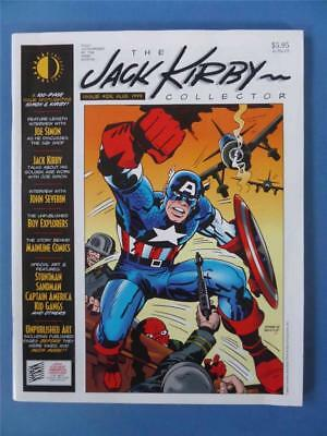 JACK KIRBY COLLECTOR 25 Huge 100 Page Issue!!