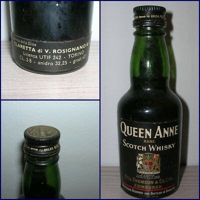 MINIATURA COLLECTION WHISKY QUEEN ANNE cl.3,8 gr.43