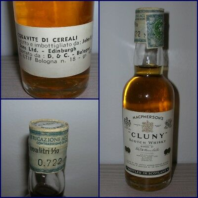 MINIATURA COLLECTION WHISKY CLUNY cl.4,7 gr.43
