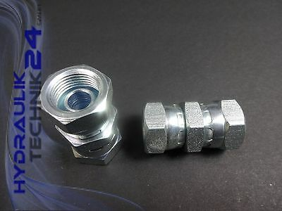 Straight Connector Double Connector inch BSP G 1/8? to G2? - Season Prices