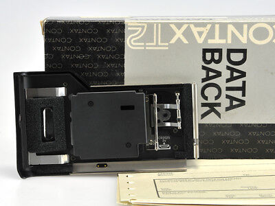 Contax T2 Data Back - Nuovo / New