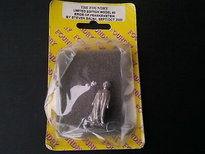 The Bride of Frankenstein Wargames Foundry limited edition miniature Horror RPG
