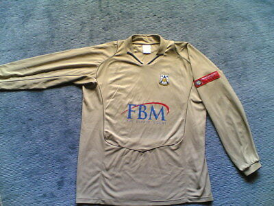 Trikot - Haverfordwest Country FC - beige - #18 + matchworn LIGA Patch - Wales