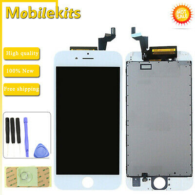 """White LCD Display Screen Touch Digitizer Bezel Frame Assembly For iPhone 6S 4.7"""""""