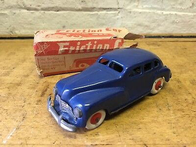Alps Vintage Friction Car Made In Japan Rare Barn Find Tin Plate Toy Mint