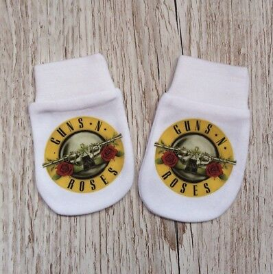 Guns N Roses  Inspired Baby Scratch Mitts/mittens