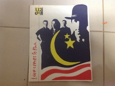 U2 Loves comes to town, concert guide, Australia 1989