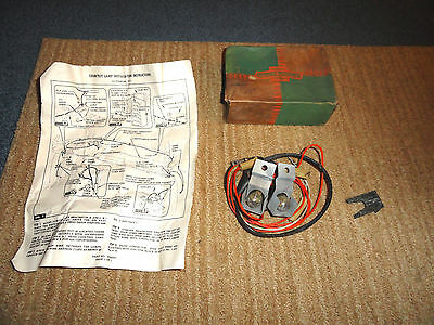 1958 Chevy Pass. Impala Bel Air Biscayne Nos Courtesy Lamp Unit 987736