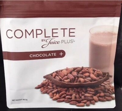Juice Plus Complete Shake Chocolate Brand New Bigger Pack 562.5g + FREE SCOOP