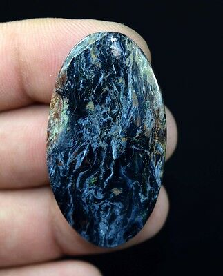 Filament !  44.10  Cts. 100 % Natural  Pietersite  Oval  Cab Loose Gemstones