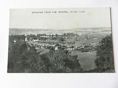 Postcard Brading From the Downs, Ryde, I.O.W. Unposted.