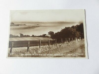 Postcard Beachley, The Meeting of the Wye & Severn. Unposted.