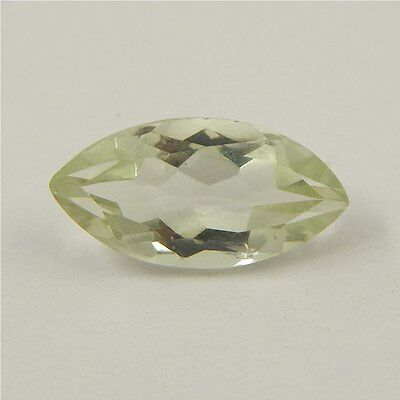 4.3 cts Natural Green Amethyst Gemstone Must See Loose Cut Faceted R#192-11