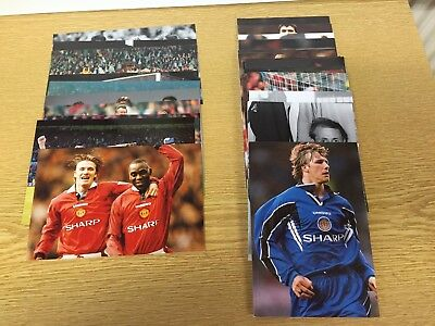 46 singles from  Official 1994  Manchester United Postcard Set NO DUPLICATION