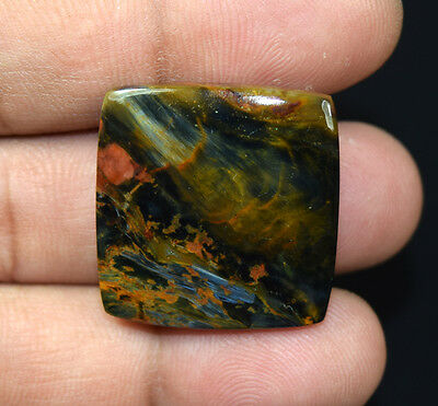 36.50 Cts. 100 % Natural Chatoyant Pietersite Cushion Cabochon Loose Gemstones
