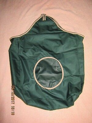 *** Hay Feeder  Bag X 2 *** Denier *** 'green' ***