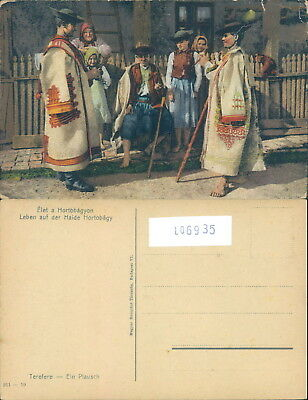 Costumes Folklore-Hungary-Ungheria-Hortobagy-O9A-Ll06935