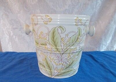 Antique Cauldron England Porcelain Victorian Slop Jar Chamber Pot