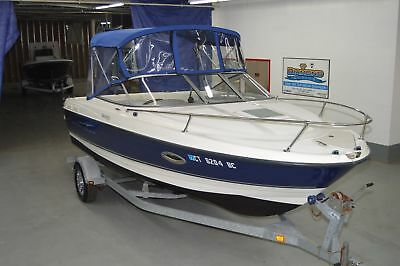 2007 Bayliner 210 Discovery Cuddy Cabin Boat, 21Ft, 5.0L 220Hp I/o, W/ Trailer