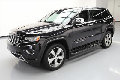 2014 Jeep Grand Cherokee Overland Sport Utility 4-Door 2014 JEEP GRAND CHEROKEE OVERLAND 4X4 PANO ROOF NAV 27K #441720 Texas Direct