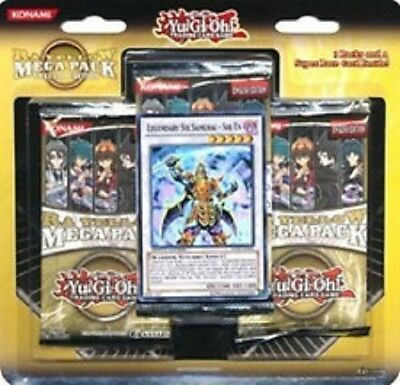 YU GI OH RA YELLOW MEGA PACK SPECIAL EDITION LEGENDARY SIX SAMURAI CARD + 3 pack