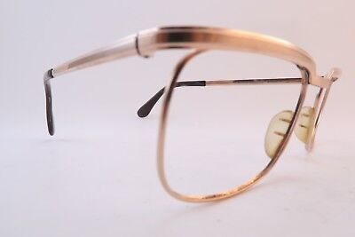 Vintage gold filled eyeglasses frames Marwitz OPTIMA 54-20 140 men's medium