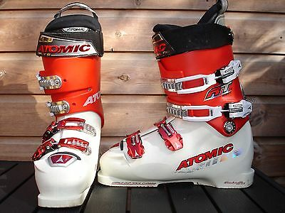 Atomic RT C5 130 Ski Boots Men's Size UK 9 USED VG Condition Made In Austria