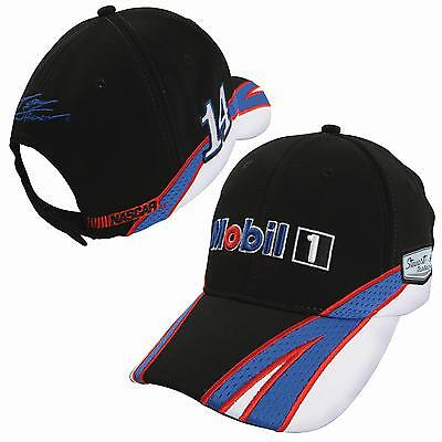 Tony Stewart Mobil 1 Element Hat Authentics New With Tags