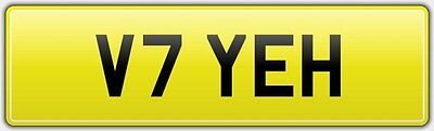 Yeh Moto Guzzi V7 Racer Motorcycle Dvla Bike Number Plate - Ii 11 Stone Special