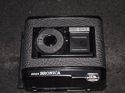 Bronica Gs 6X7 120 Film Back Magazine Holder        Mint - Lovely Condition!!!!