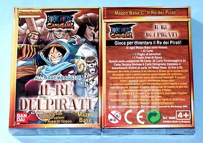 ONE PIECE CARD GAME Mazzo Base (Variante C) IL RE DEI PIRATI NUOVO SIGILLATO