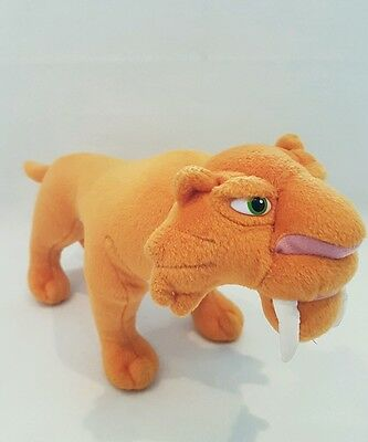 "Ice Age disney film diago sabre tooth tiger soft toy 12"" new"