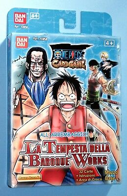 ONE PIECE CARD GAME Mazzo Base (Variante B) LA TEMPESTA DELLA BAROQUE WORKS